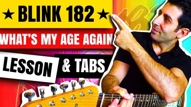 What's-My-Age-Again-Guitar-Lesson---How-To-Play-What's-My-Age-Again-On-Guitar---Arpeggios,-Chord-Progression,-Strumming,-Palm-Muting